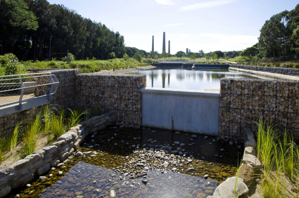 Sydney Park, St. Peters Stormwater Harvesting (Source: City of Sydney 2017)