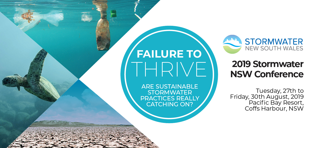 2019 Stormwater NSW Conference Banner
